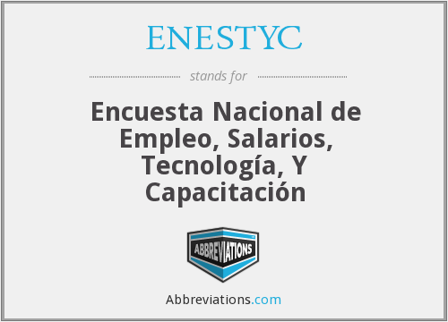 What does ENESTYC stand for?