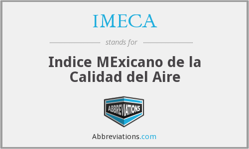 What does IMECA stand for?