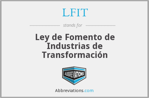 What does LFIT stand for?