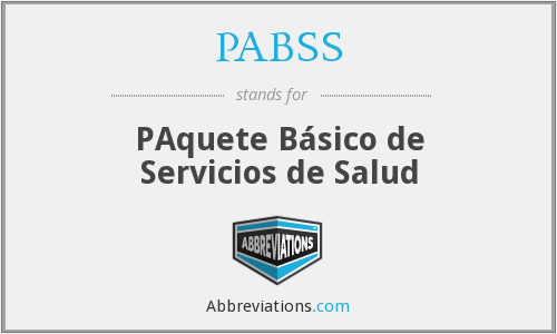 What does PABSS stand for?