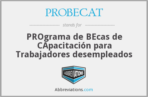 What does PROBECAT stand for?