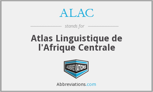 What does ALAC stand for?