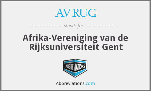 What does AVRUG stand for?