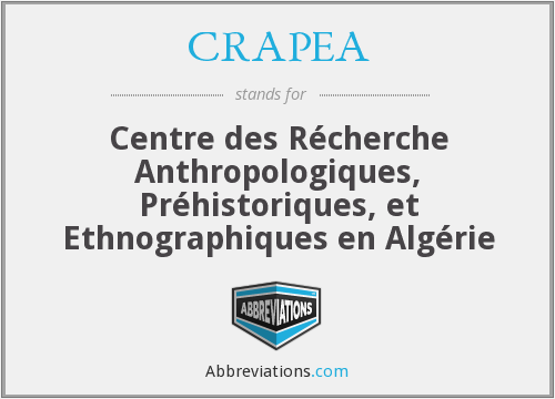 What does CRAPEA stand for?