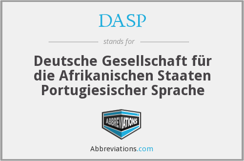 What does DASP stand for?