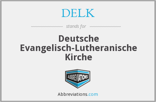What does DELK stand for?