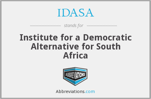 What does IDASA stand for?