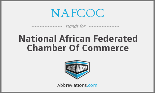 What does NAFCOC stand for?