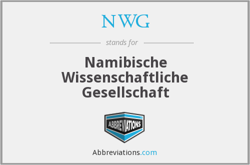 What does NWG stand for?