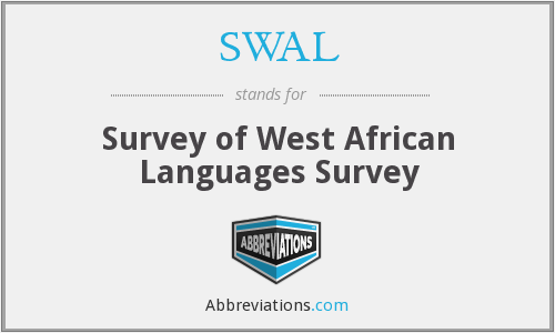 What does SWAL stand for?