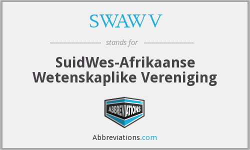 What does SWAWV stand for?