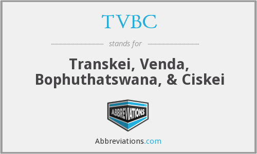 What does TVBC stand for?