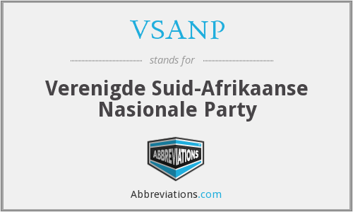 What does VSANP stand for?