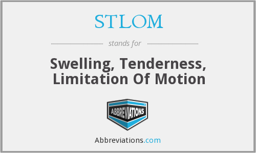 What does STLOM stand for?