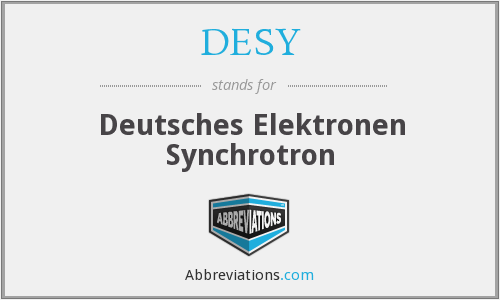 What does DESY stand for?
