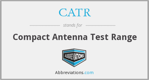What does CATR stand for?