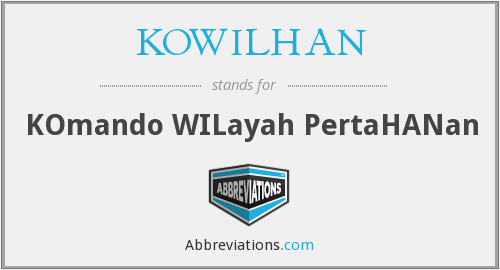 What does KOWILHAN stand for?