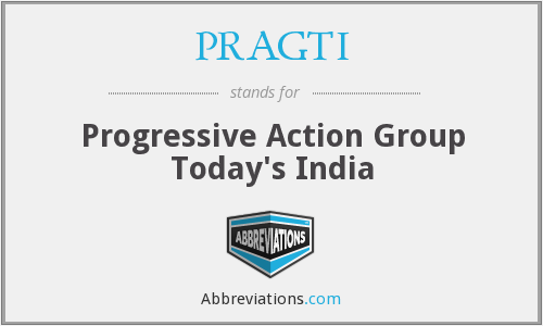 What does PRAGTI stand for?
