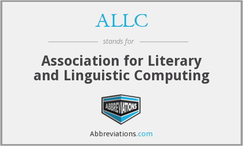 What does ALLC stand for?