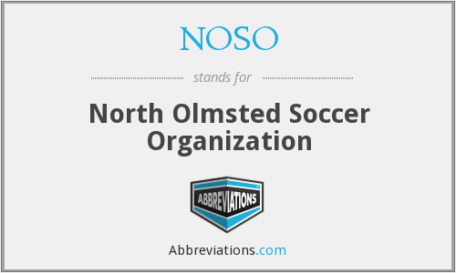 What does NOSO stand for?