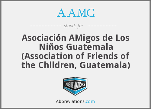 What does AAMG stand for?
