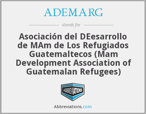 What does ADEMARG stand for?