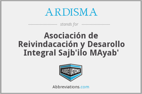 What does ARDISMA stand for?