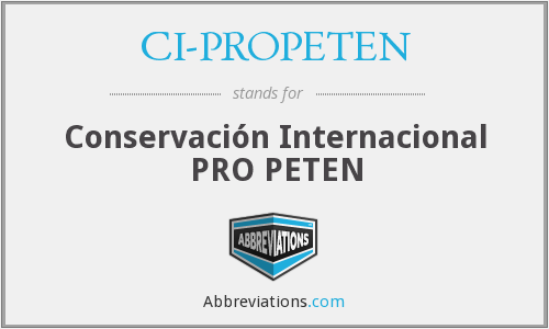What does CI-PROPETEN stand for?