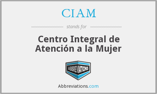 What does CIAM stand for?