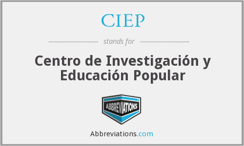 What does CIEP stand for?