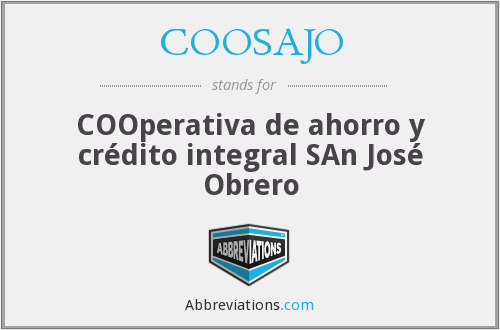What does COOSAJO stand for?