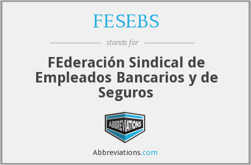 What does FESEBS stand for?