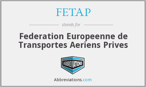 What does FETAP stand for?