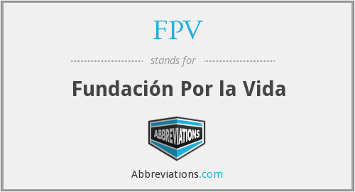 What does FPV stand for?