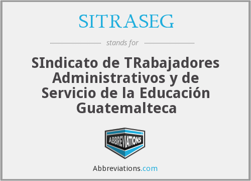 What does SITRASEG stand for?