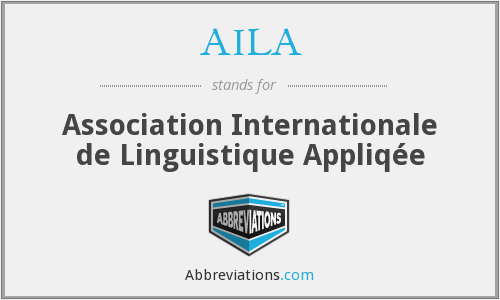 What does AILA stand for?