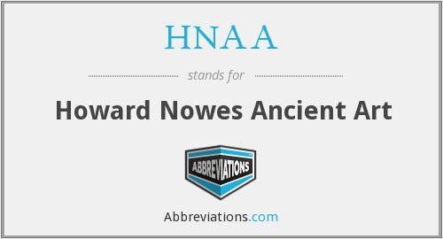 What does HNAA stand for?