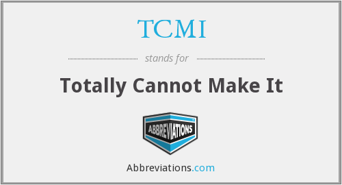 What does TCMI stand for?