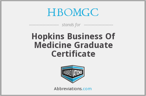 What does HBOMGC stand for?