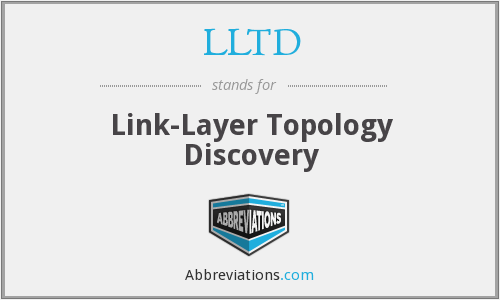 What does LLTD stand for?