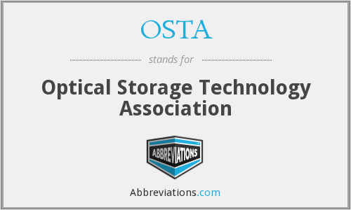 What does OSTA stand for?