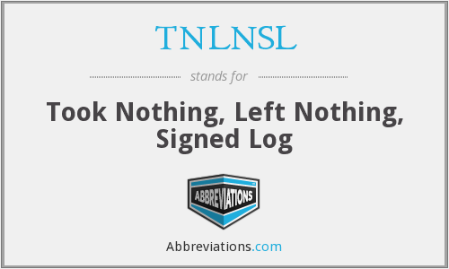 What does TNLNSL stand for?