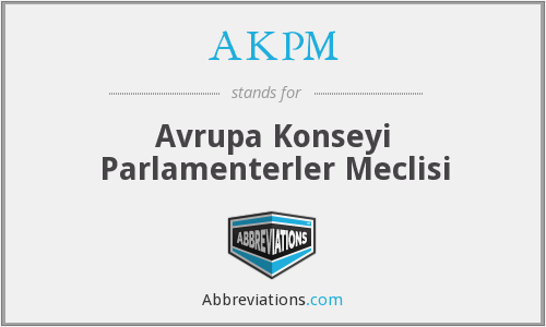 What does AKPM stand for?