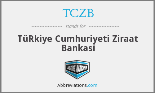 What does TCZB stand for?