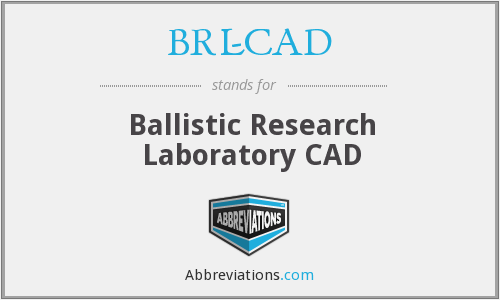 What does BRL-CAD stand for?