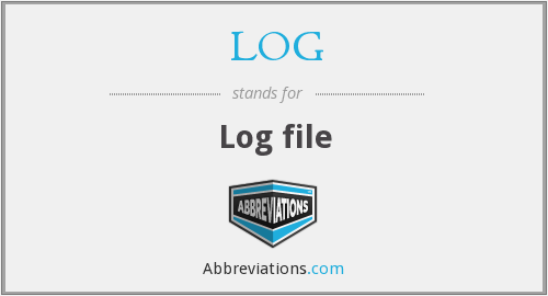 What does LOG stand for?