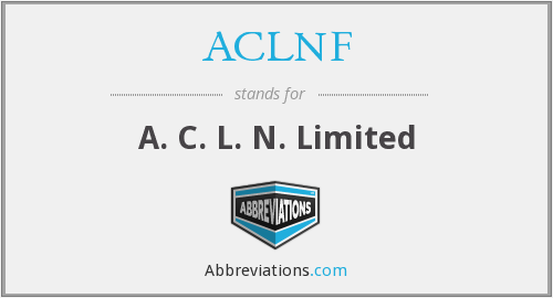 What does ACLNF stand for?