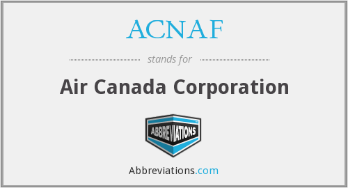 What does ACNAF stand for?