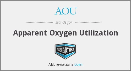 What does AOU stand for?