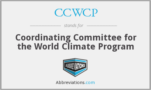 What does CCWCP stand for?